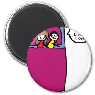Little Spoon 2 Inch Round Magnet