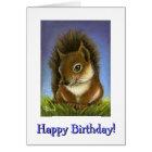 Little squirrel card