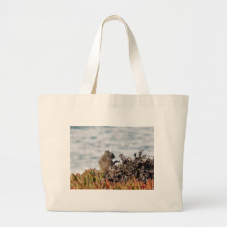 Little squirrel large tote bag