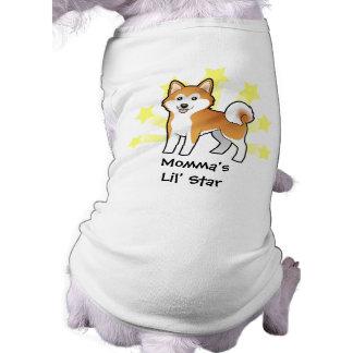 Little Star Akita Inu / Shiba Inu Doggie T-shirt
