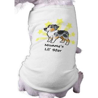 Little Star Australian Shepherd Dog Shirt
