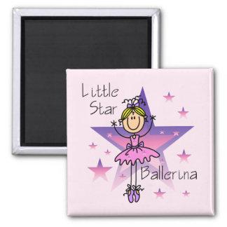 Little Star Ballerina - Blond Hair Magnet