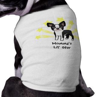 Little Star Boston Terrier Dog T-shirt