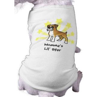 Little Star Boxer Dog Tee
