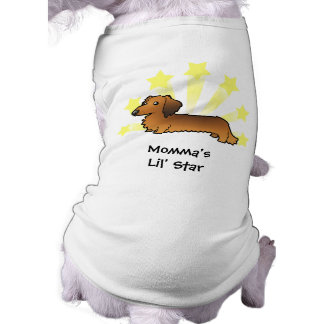 Little Star Dachshund (longhair) Doggie Tee