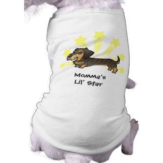Little Star Dachshund (wirehair) Doggie Tee