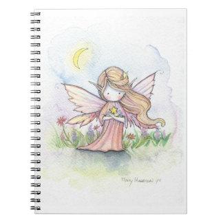 Little Star Fairy Whimsical Art Notebook