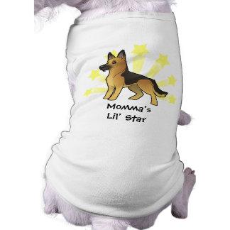 Little Star German Shepherd Dog Clothes