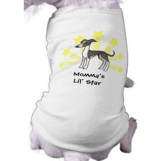 Little Star Greyhound/Whippet/Italian Greyhound Pet Tshirt