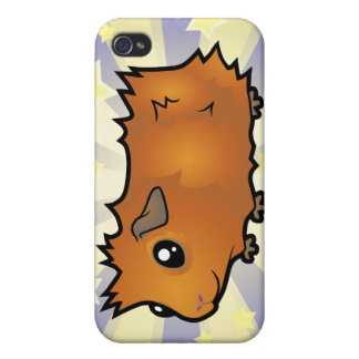 Little Star Guinea Pig (scruffy) iPhone 4 Covers