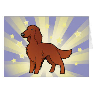 Little Star Irish / English / Gordon / R&W Setter Card