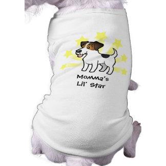 Little Star Jack Russell Terrier Dog T Shirt
