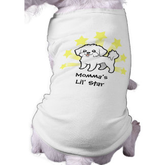 Little Star Maltese (puppy cut) Shirt