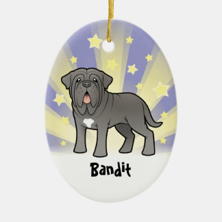 Little Star Neapolitan Mastiff Ceramic Ornament