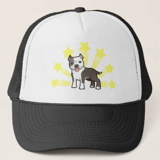 Little Star Pitbull/American Staffordshire Terrier Trucker Hat