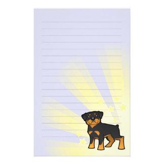 Little Star Rottweiler Custom Stationery