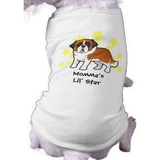 Little Star Saint Bernard Doggie Tee Shirt