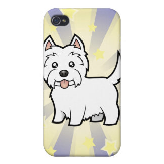 Little Star West Highland White Terrier iPhone 4 Cases