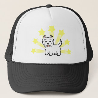 Little Star West Highland White Terrier Trucker Hat