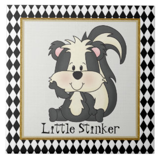 Little Stinker fun cartoon tile