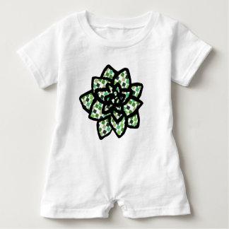 Little Succulent Baby Romper