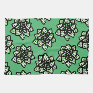 Little Succulents Kitchen Towel