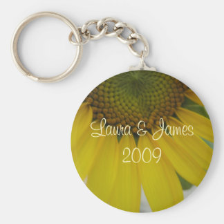 Little Sunflower Wedding Keychain