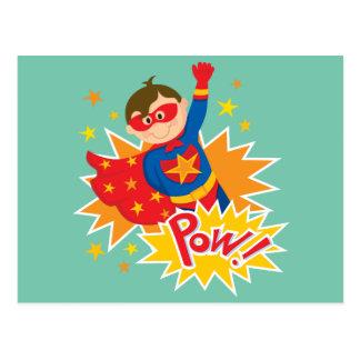 Little Superhero Postcard