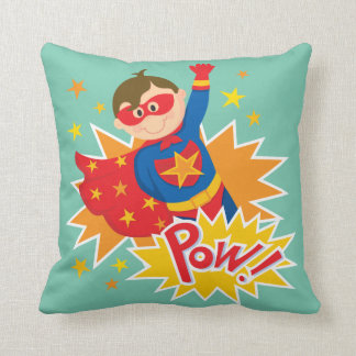 Little Superhero Throw Pillow