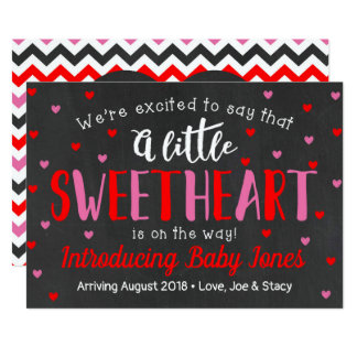 Little Sweetheart Pregnancy Announcement