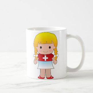 Little Swiss Girl Coffee Mug