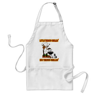 LITTLE THINGS CHILLIN' BIG THINGS GRILLIN' STANDARD APRON