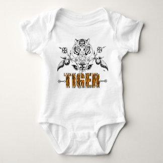 Little Tiger Vintage tiger print baby Shirt