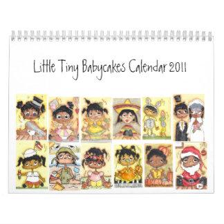 Little Tiny Babycakes Calendar 2011