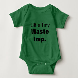 Little Tiny Waste Imp Baby Romper
