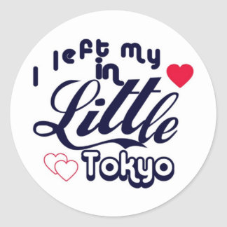 Little Tokyo Classic Round Sticker