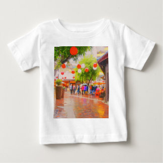 Little Tokyo Japanese village Painting Baby T-Shirt