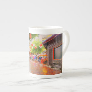 Little Tokyo Village Plaza Painting Mug