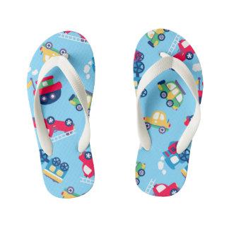 Little transport kid's flip flops