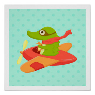 Little Travelers: Flying Crocodile poster