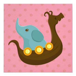 Little Travelers: Viking Elephant card