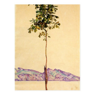 Little Tree by Egon Schiele Postcard