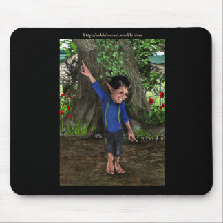 Little Troll Dancing Mouse Pad