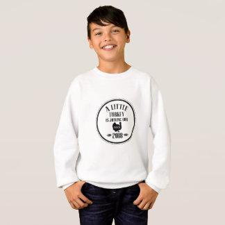 little turkey 2018 pregnant thanksgiving sweatshirt