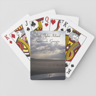 Little Tybee Island Beach at Sunrise | Savannah Poker Deck