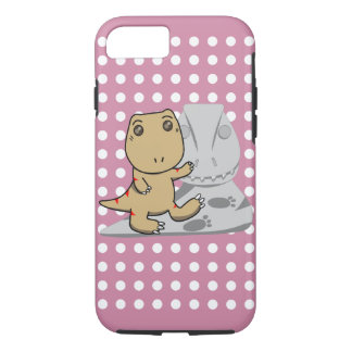 Little Tyrannosaurus-Newborn Baby Got Talent iPhone 7 Case