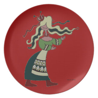 Little Ukrainian Dancer Plate