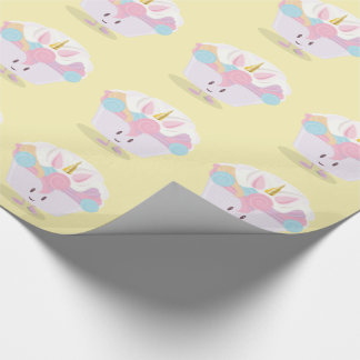 Little unicorn cupcake | Wrapping Paper