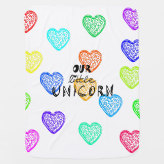 Little Unicorn Swaddle Blanket