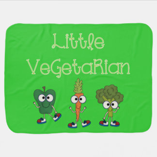 Little Vegetarian Baby Blanket